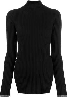 Plan C ribbed fitted jumper