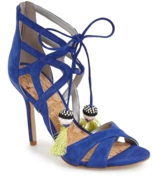 Sam Edelman 'Azela' Tassel Lace-Up Sandal