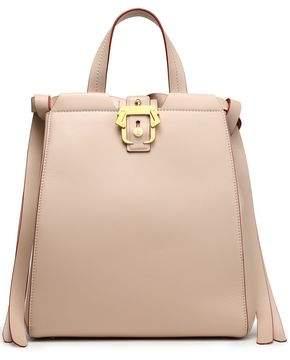 Paula Cademartori Fringed Leather Shoulder Bag