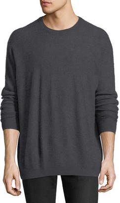 Vince Boiled Cashmere Crewneck Sweater