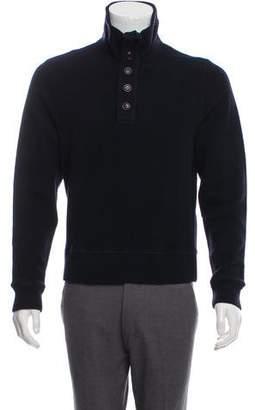 C.P. Company Mock Neck Wool-Blend Sweater