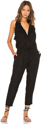 Enza Costa French Linen Easy Jumpsuit