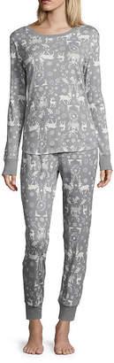 Co North Pole Trading Pant Pajama Set-Talls