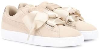 Puma Basket Heart suede sneakers