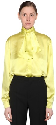 Balenciaga SILK SATIN BLOUSE