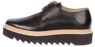 Stella McCartney Vegan Leather Platform Derby Shoes