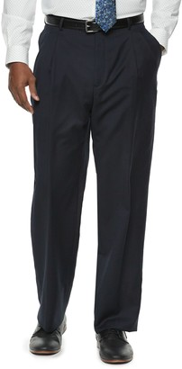 Men's Palm Beach Cory Classic-Fit Wool Pleated Suit Pants