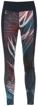 Track & Field Trilha printed leggings