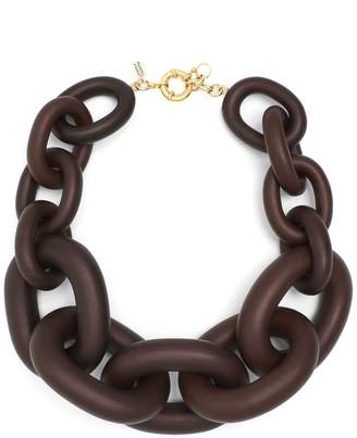 VANDA JACINTHO Chunky chain-link necklace