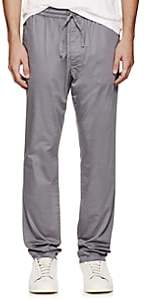 Tomas Maier MEN'S STRETCH COTTON-BLEND POPLIN PANTS - GRAY SIZE L