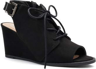 So SO Podcast Women's Wedge Ankle Boots
