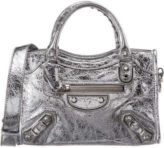 e6a511d8e331 Balenciaga Metallic Edge City Mini Leather Shoulder Bag
