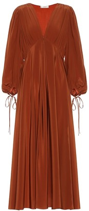 The Row Sante silk-crepe maxi dress