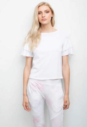 Generation Love Mara Ruffle Short Sleeve Tee