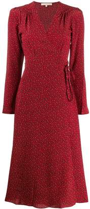 Vanessa Bruno floral print midi dress