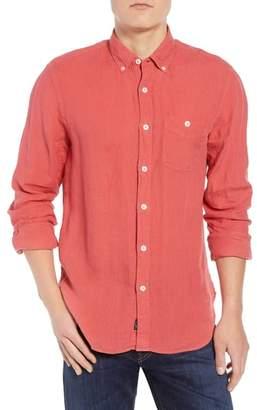 Todd Snyder Regular Fit Linen Sport Shirt