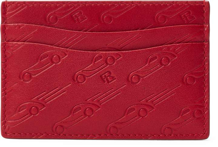 Ralph Lauren Printed Leather Card Case