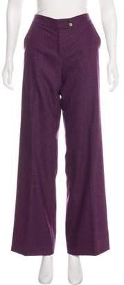 Etro Wool Flared Pants