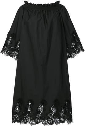P.A.R.O.S.H. lace trim dress