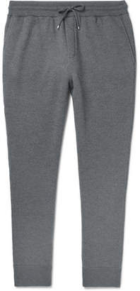 Dunhill Tapered Loopback Wool And Cashmere-Blend Sweatpants