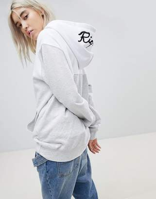 N. Rip Dip RIPNDIP Oversized Hoodie With Embroidered Logo Hood Two-Piece