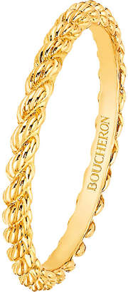 Boucheron Serpent Bohème 18ct yellow-gold wedding band