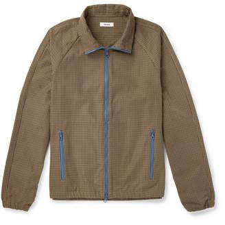 Très Bien Houndstooth Nylon-Twill Jacket