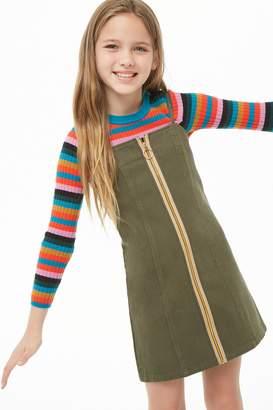 Forever 21 Girls Denim Cami Dress (Kids)