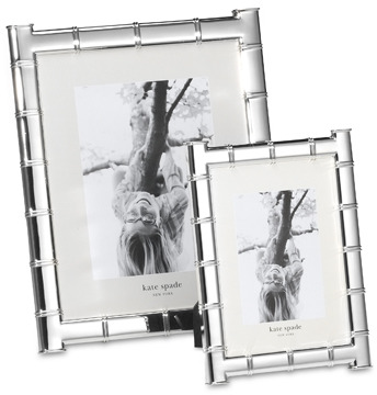 kate spade new york Pompano PointTM Silverplated Frame