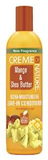 Crème of Nature Mango & Shea Butter Ultra Moisturizing Leave-in Conditioner