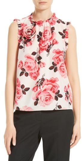 Women's Kate Spade New York Rosa Silk Top