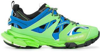 Balenciaga lime green track sneakers