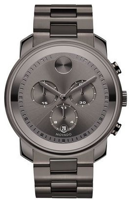Movado 44mm Bold Chronograph Watch, Gray $995 thestylecure.com