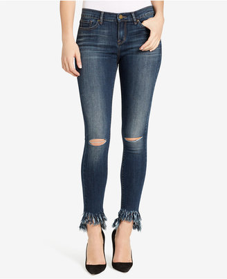 William Rast Frayed-Hem Skinny Jeans $89.50 thestylecure.com