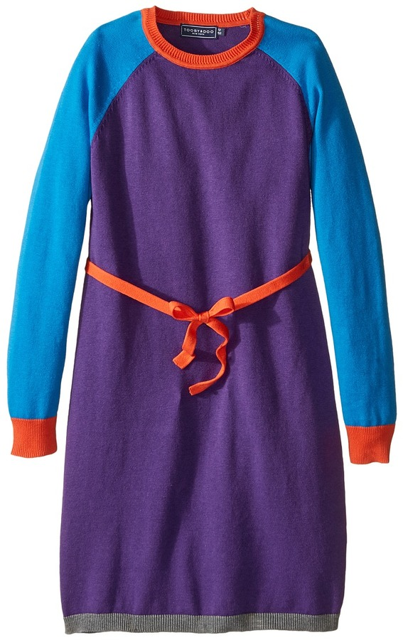 Toobydoo Caroline Belted Sweater Dress (Toddler/Little Kids/Big Kids)