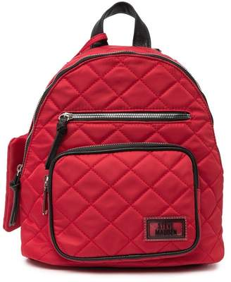 Steve Madden Quilted Nylon Backpack