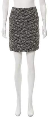 Brooks Brothers Patterned Mini Skirt