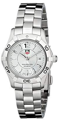 "Tag Heuer Women's WAF1412.BA0823""Aquaracer"" Stainless Steel Dive Watch"