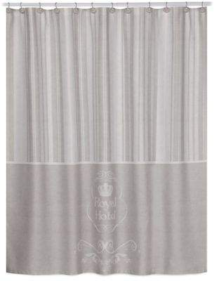 Royal Hotel Shower Curtain in Taupe