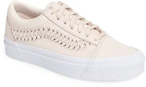 Women's Vans Old Skool Weave Sneaker $99.95 thestylecure.com