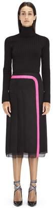 Lanvin Double Silk Organza Skirt