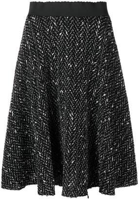 Dolce & Gabbana pleated knit skirt