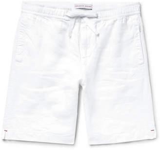 Orlebar Brown Harton Linen Drawstring Shorts