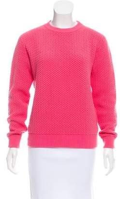 Marc Jacobs Textured Crew Neck Sweater