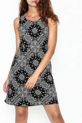 Wish Black Lace Back Dress