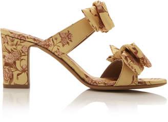 c525100c40c6 Tabitha Simmons x Johanna Ortiz Barbi Floral Silk Bow Sandals