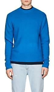 Acne Studios Men's Peele Brushed Wool-Cashmere Sweater-Blue