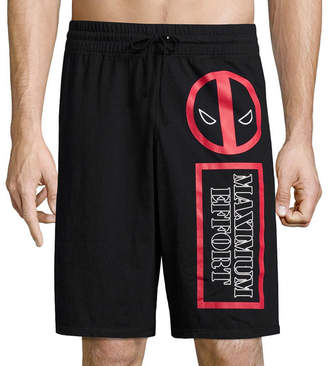 Marvel Deadpool Reversible Knit Pajama Shorts