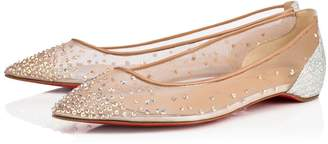 Christian Louboutin Follies Strass Flat