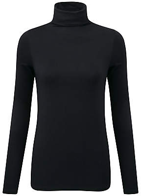 Pure Collection Valeria Roll Neck Top